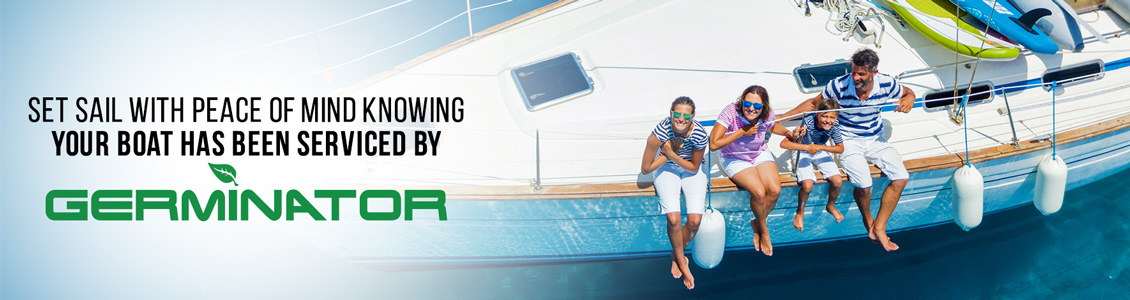 Germinator's Boat Sanitizing and Disinfecting Service Will Help Ensure Peace of Mind