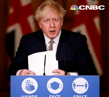 England Prime Minister Boris Johnson Announces New Strain of COVID-19