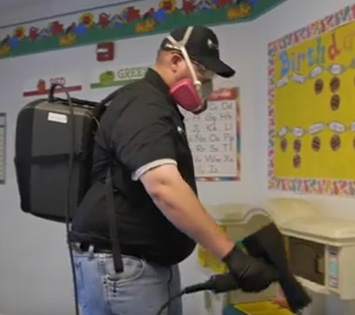 Germinator Day Care Sanitizing Services in Lubbock, Texas